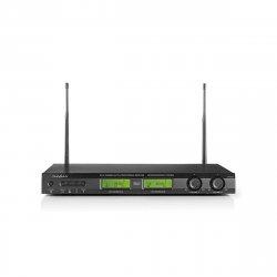 Sistem de microfoane wireless, 16-canale, 2 microfoane incluse, redare până la 6 ore, Nedis
