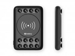 Acumulator extern Sandberg 420-51, 5000 mAh, incarcare wireless 5W