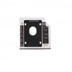 Rack HDD Caddy pentru laptop grosime 12.7mm interfață SATA la SATA