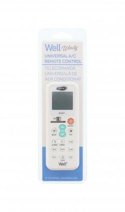 Telecomandă universală pentru aparate de aer condiționat Well