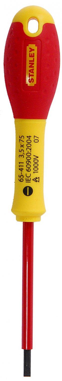Surubelnita izolata FatMax 1000V, 3.5x75mm, 0-65-411 Stanley