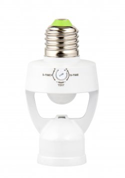 Senzor de miscare infrarosu cu dulie E27 Well