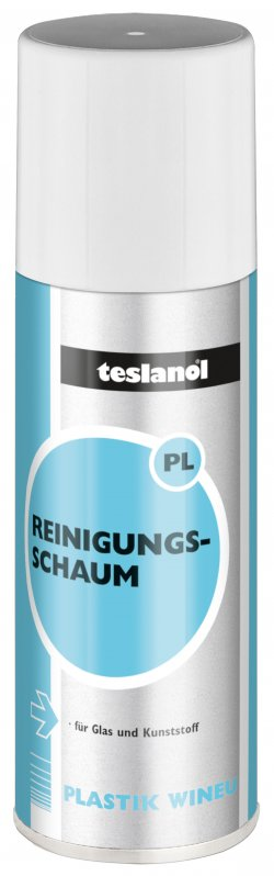 Spumă pentru curățat suprafețele din plastic 400 ml, Teslanol