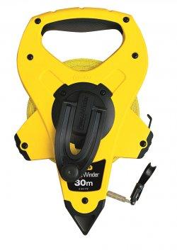 Ruletă PowerWinder 30mx12.7mm cu bandă de fibră de sticlă, 2-34-772 Stanley