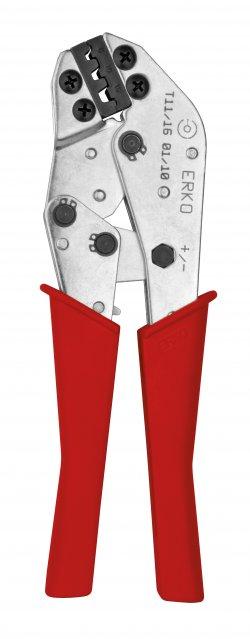 Presă sertizare pini Erko T 11-16, 6 ÷ 16 mm2, lungime 210mm