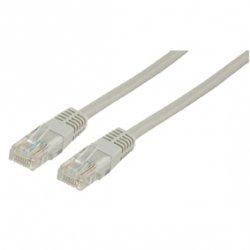 Cablu UTP CAT5 patch cord 10m gri Goobay
