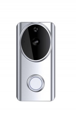 Interfon video Smart WiFi Woox R4957 cu sonerie