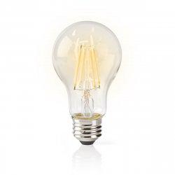 Bec WiFi Smart LED cu filament, E27, A60, 5W, 500 lm