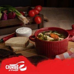 Supă de găină de țară cu tăiței  image