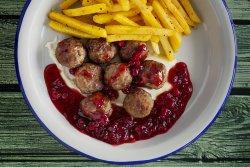 Chifteluțe suedeze cu garnitură