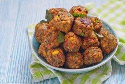 Chifteluțe vegetale cu garnitură