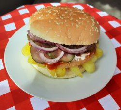 Royal burger image