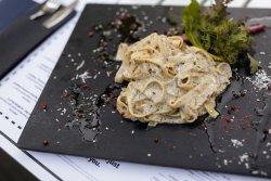 Truffle and parmigiano pasta image