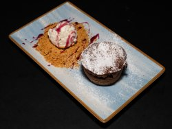 Chocolate Soufflé image