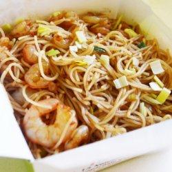 Tăiței de orez cu creveți image