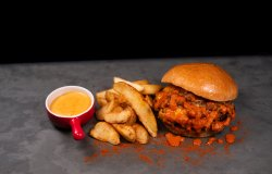 Meniu Pulled Pork Burger