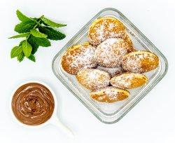 Mini clatite cu Nutella