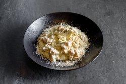 Risotto con pollo e gorgonzola image