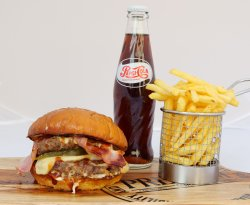 Meal Deal The GoodFather Smash Double Cheeseburger image