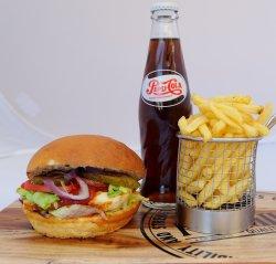 Meal Deal Halloumi Burger image