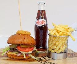 Meal Deal Premium Beef Burger image