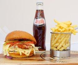 Meal Deal Premium Chicken Burger image