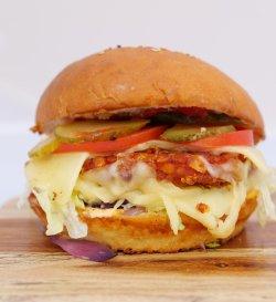 Premium Chicken Burger image