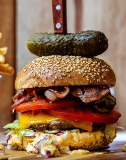 Wild Boar Burger image