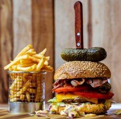Meal Deal Wild Boar Burger image