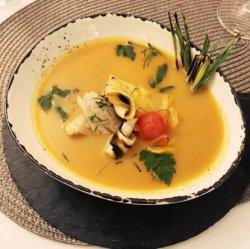 Supă cremă de pește/ Fish soup