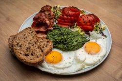 Ouă cu spanac | Eggs with Spinach