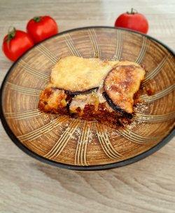Lasagna vegetariană cu foi de dovlecel şi vinete image