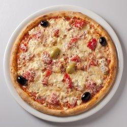 Pizza Prosciutto quattro formaggi image