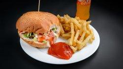 Meniu bigburger vită +  suc image