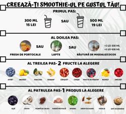 Crează-ți Smoothie-ul pe gustul tău 300 ml image