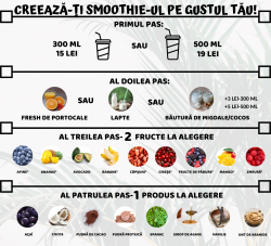 Crează-ți Smoothie-ul pe gustul tău 500 ml image