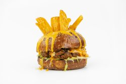 The Cheese Us Christ Burgr image