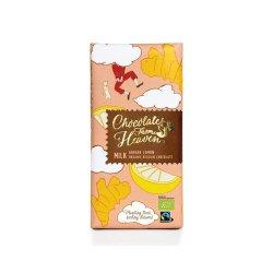 Ciocolata cu lapte cu ghimbir si lamaie- Milk Ginger Lemon Bio