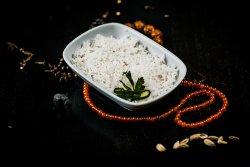 Garlic Palav  (Vegan) image