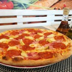 Pizza Carciofi gigant