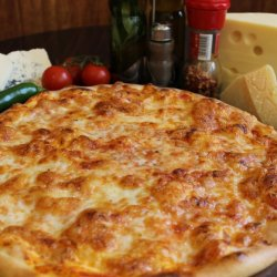 Pizza Margherita gigant