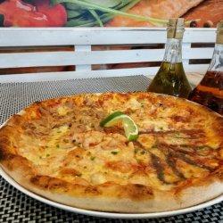 Pizza Quattro Pesci gigant