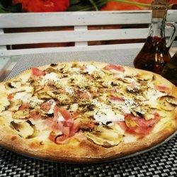 Pizza Raffaello gigant