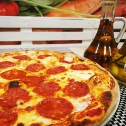 Pizza Salami Morgante gigant