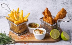 40% Reducere: Beer Battered Fish and Chips image