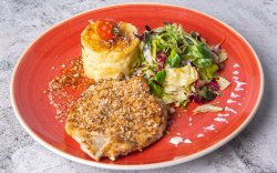 Grilled Chicken Breast&Herbs Crumble image