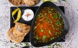 Romanian Style Beef Soup image