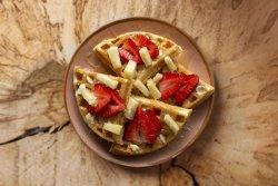 Hawaii waffles