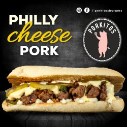 Philly cheese pork image