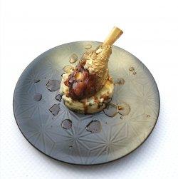 Gambă de miel cu piure de cartofi cu trufe